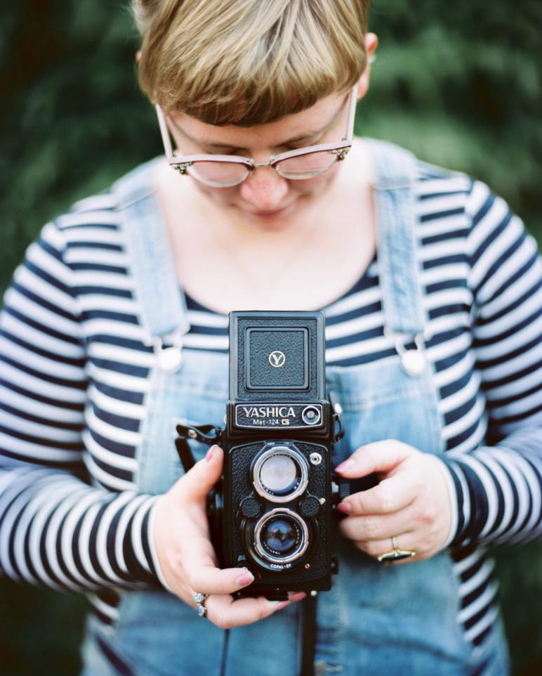 Grand Rapids, Michigan Film Wedding Photographer