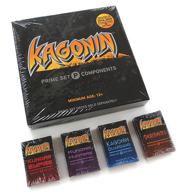 KAGONIN: THE COMPLETE PRIME SET