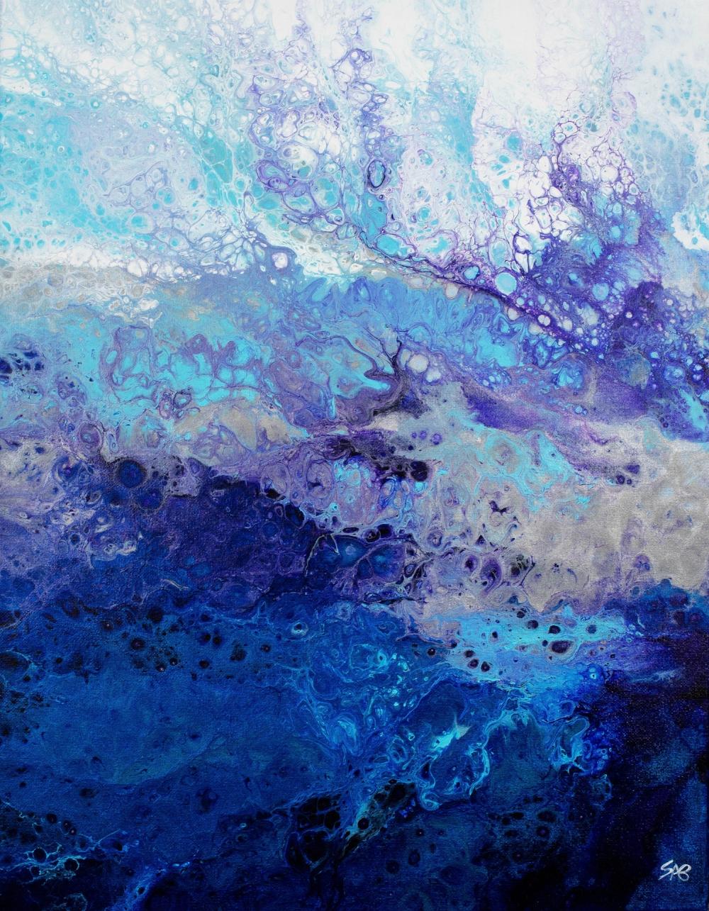 Abstract Art, Fluid Acrylic, Abstract Artist in Richmond VA