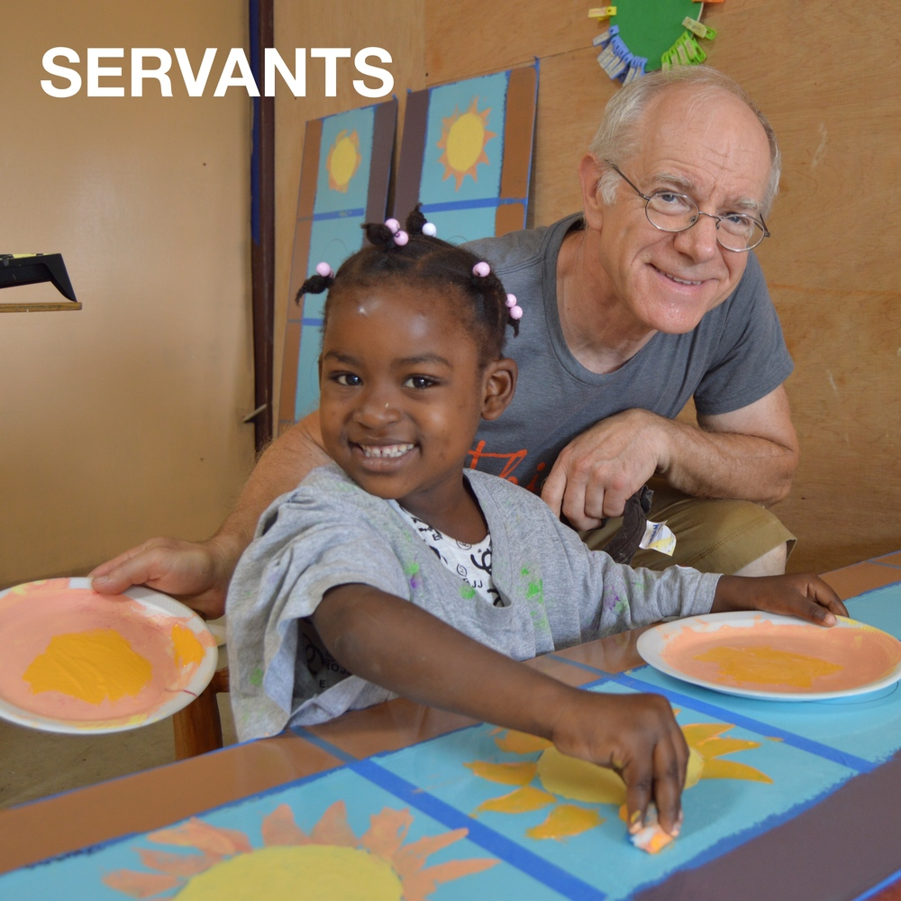 Twenty-three volunteers embarked upon serving trips including Steve (pictured), a core member of our 1:17 curriculum team. Our Founder, Curtis, and his wife, Britanny, spent 17-weeks in Haiti developing the culture of our school, which included systems and staff development.