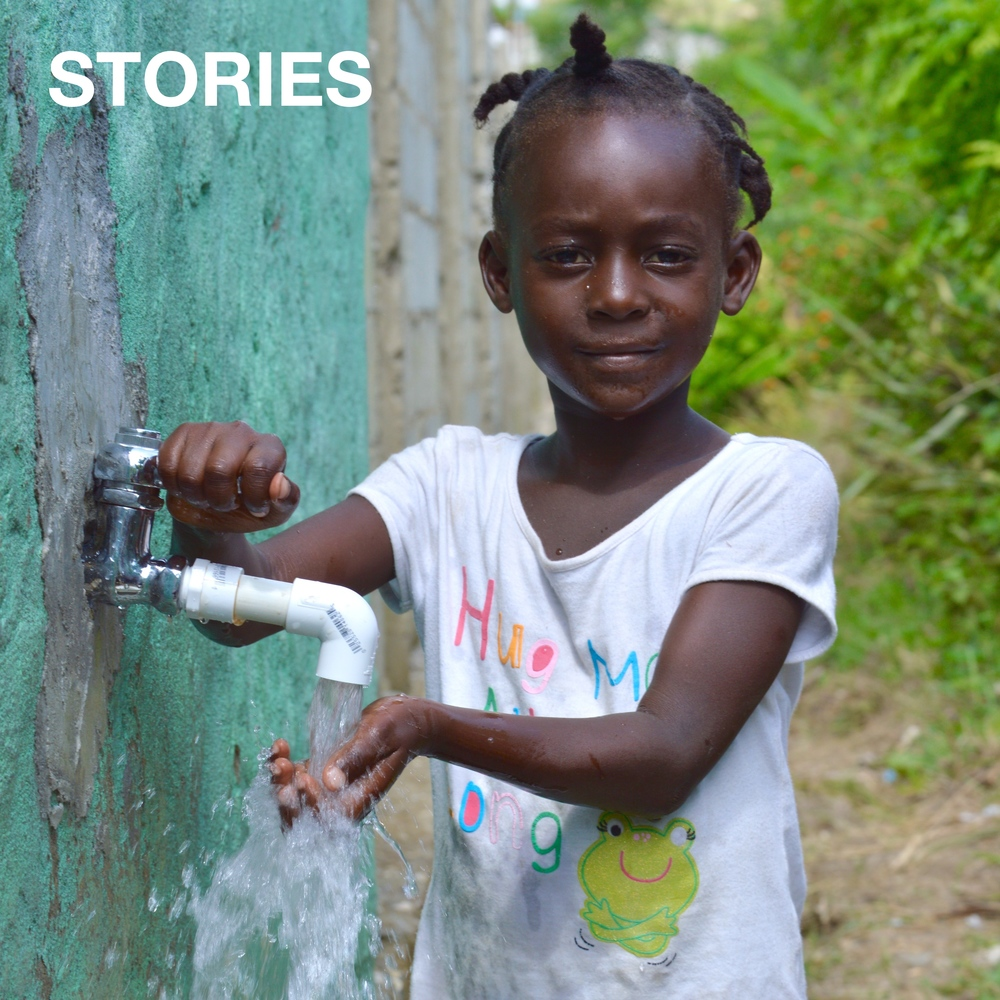 Community outreach became a bigger part of our school's story as we were able to start supplying fresh, clean water to locals for 2-3 hours each day. Students like Joudmerline are now able to drink clean water at school and at home.