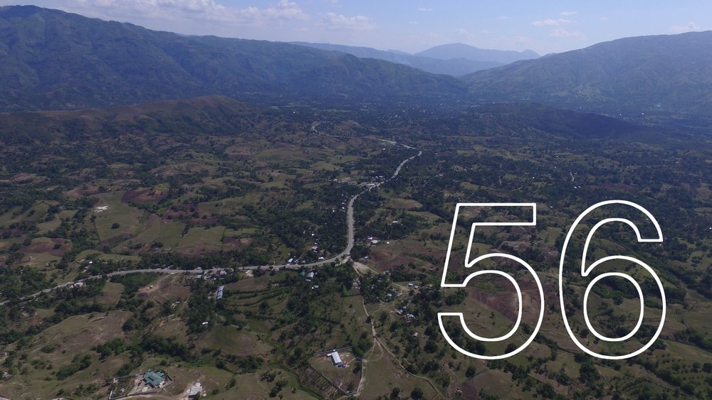 Aerial shot of Institution One 17 and the Juampas region OVER 20 ROOTS MEMBERS HELPED FUND OUR STATESIDE OPERATIONS WHICH EMPOWERED OUR STAFF TO OPERATE OUR ORGANIZATION AND SPEND 56 DAYS IN HAITI SERVING AT THE SCHOOL.
