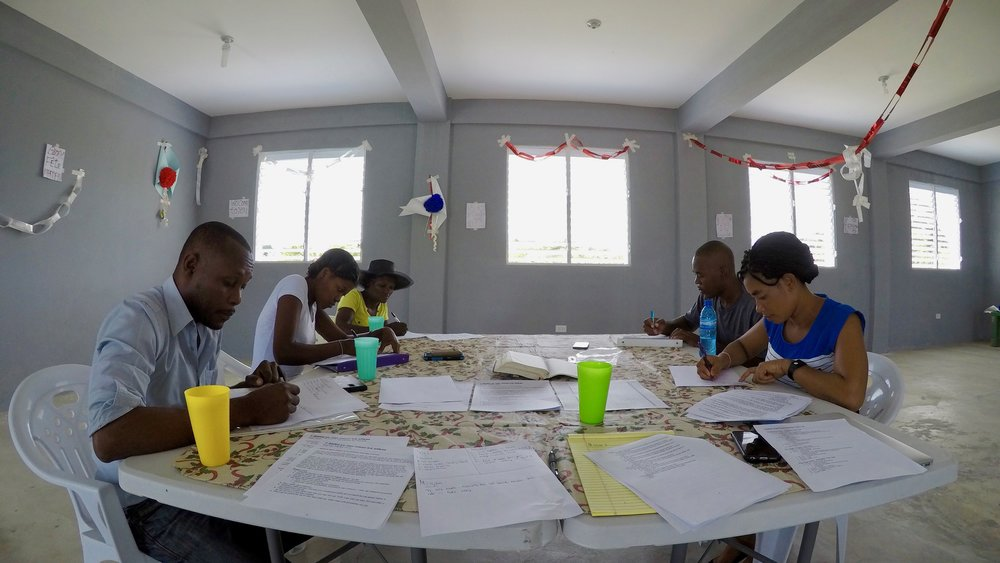 We are developing a leadership pipeline in order to prepare for future growth.  Our management team in Haiti participated in quarterly workshops designed to develop healthy culture and new competencies.