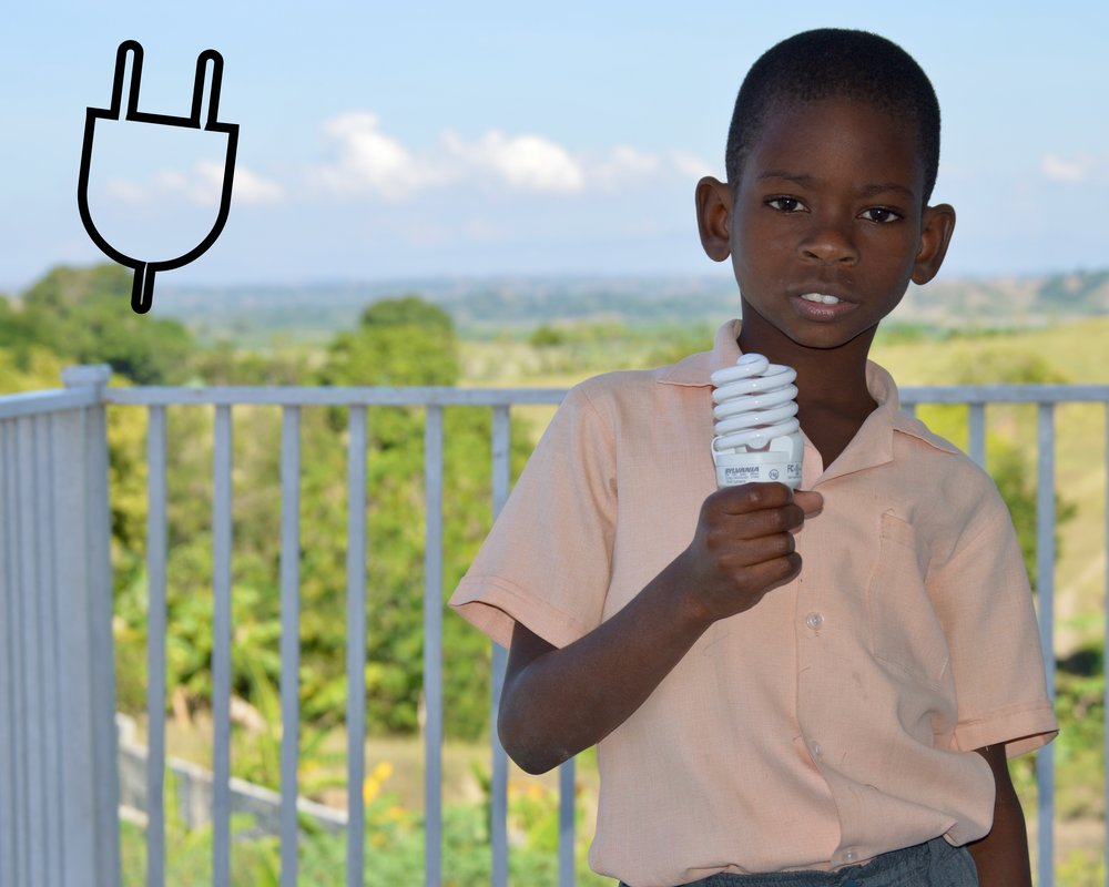 Electricity Challenge    Why:  Electricity is a luxury in Haiti that the vast majority of our students do not enjoy at home. The average American consumes 10,812 kWh per year of electricity while the average Haitian consumes just 43 kWh per year.   Challenge:  Experience life with no electricity: no TV, no lights, no stove or oven, and limited heating.   Suggested length:  24 hours