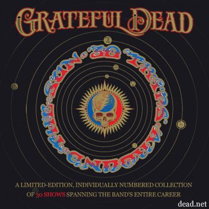 Grateful Dead 30 trips