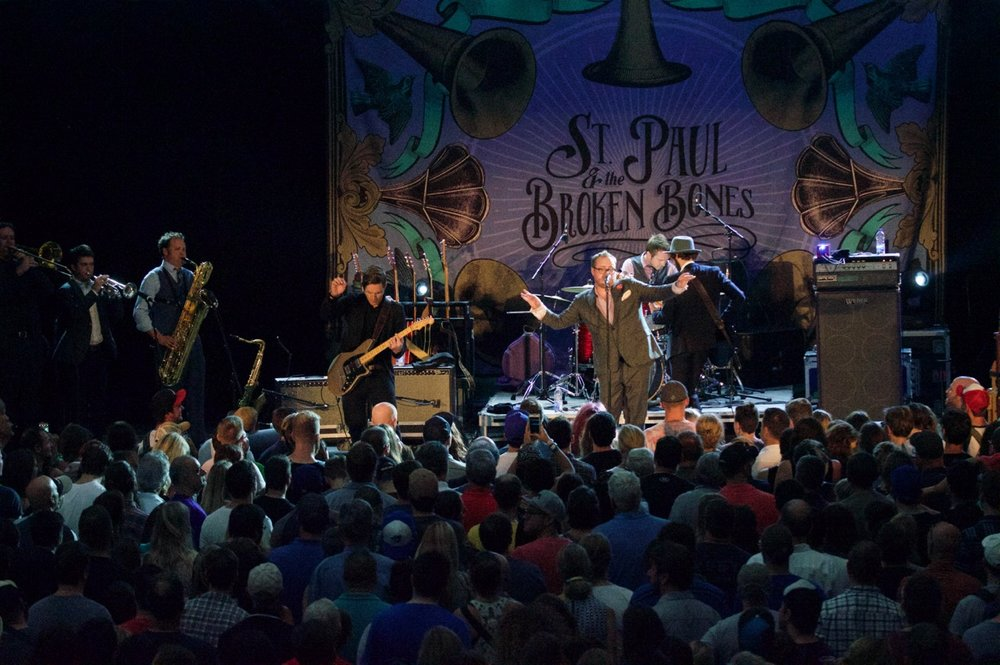 St. Paul & The Broken Bones at Ottawa CityFolk Festival - 2015-09-18