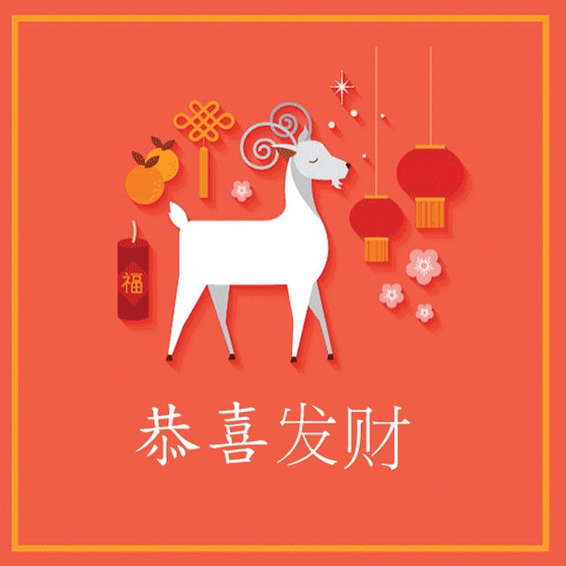 We wish you a happy and prosperous Year of the Ram. Happy Chinese New Year! #devriesglobal #chinesenewyear
