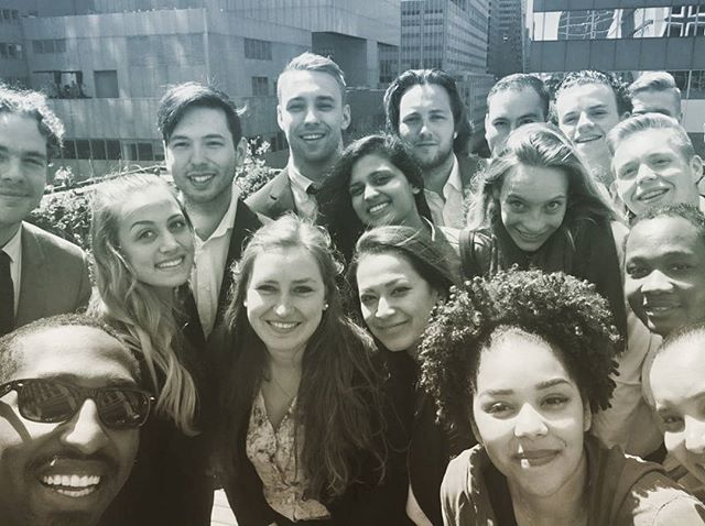 Showing @rotterdam_business_school students how we roll at DVG's NY office! #DVGMoments #rotterdamuniversityofappliedscience #rotterdamuniversity