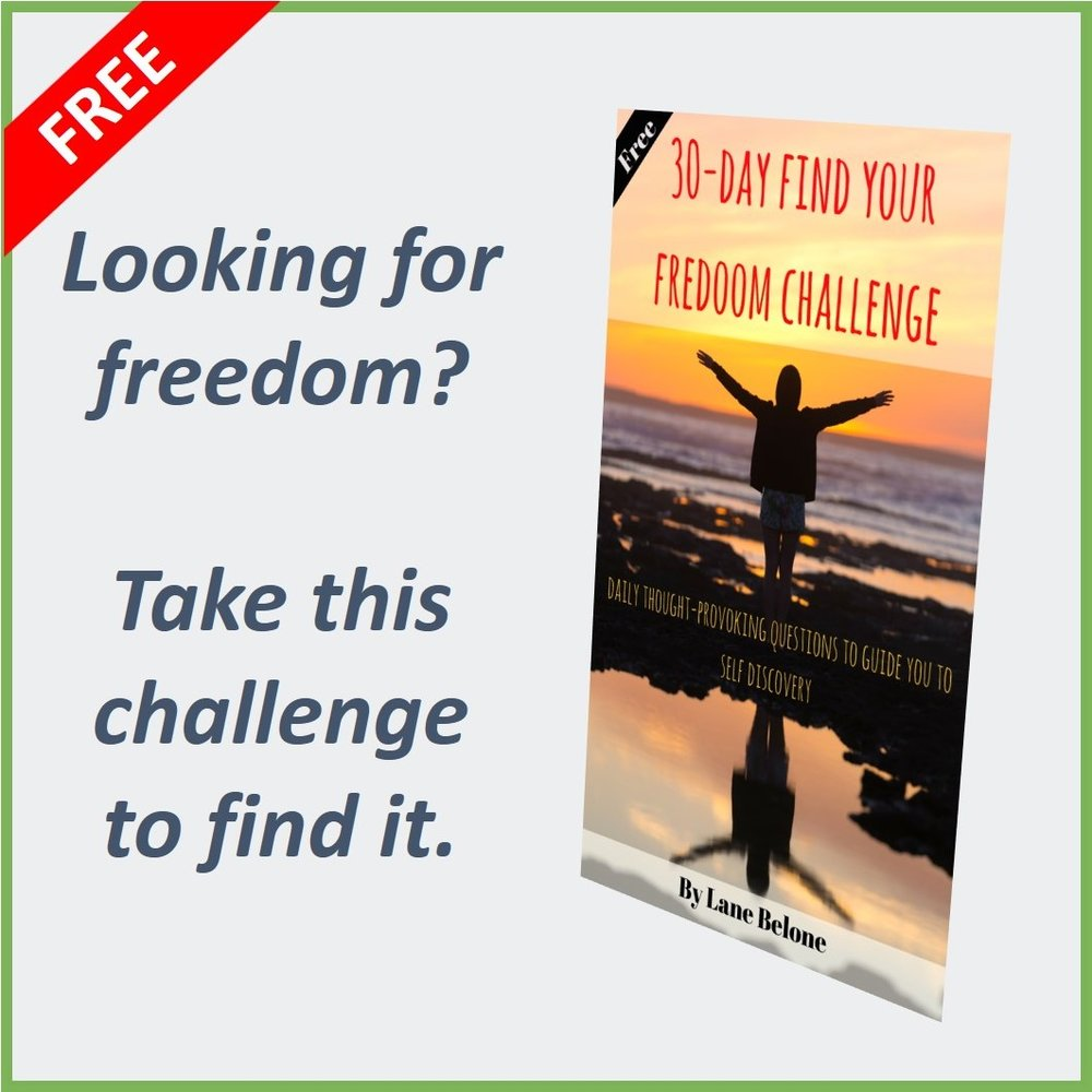 """30-Day """"Find Your Freedom"""" Challenge"""