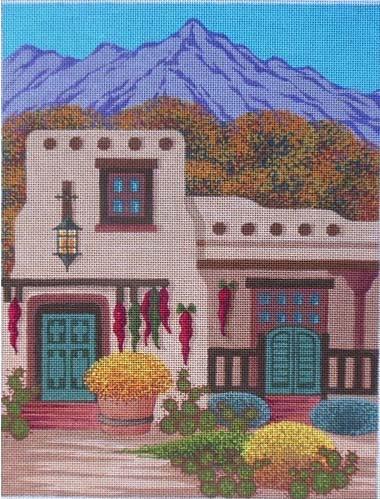 Santa Fes Golden Autumn Julias Needlework Pasw3 Tony Minieri