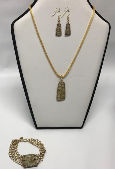 Jewelry Sets (Earrings, Necklace, Bracelet)
