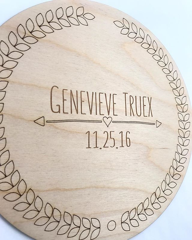 Always a favorite...our custom name/date plaques are the perfect way to welcome a little one into the world! . . . . . . #customname #bossbabe #radmaker #madewithlove #entrepreneur #freespirit #boho #handcrafted #womeninbusiness #girlboss #weddinggift #weddingdecor #etsy #etsyseller #supportsmallbusiness #shopsmall #makeology  #smallshop #shopping #promote #madewithlove #goodvibes #allnatural #motivated #ootd #etsyshop #etsyfinds