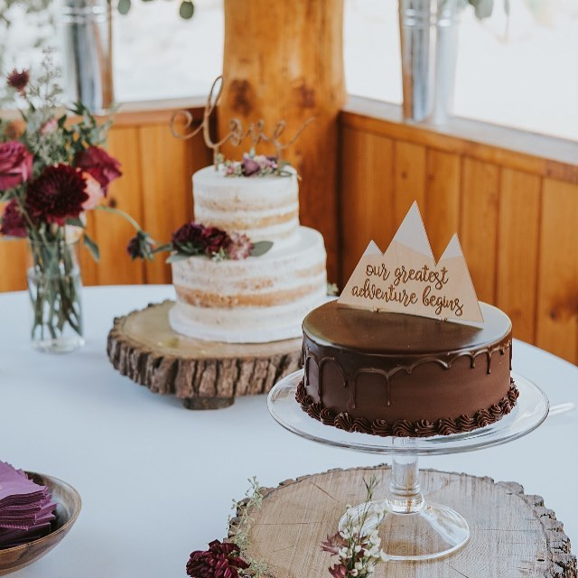 love+cake+mountains=YESPLEASE!  The wonderfully talented @hartmanoutdoorphotography snapped these shots of our cake toppers and now we're craving sweets like no other! . . . . . . #cakelovers #bossbabe #radmaker #madewithlove #entrepreneur #freespirit #boho #handcrafted #womeninbusiness #girlboss #weddinggift #weddingdecor #etsy #etsyseller #supportsmallbusiness #shopsmall #makeology  #smallshop #shopping #promote #madewithlove #goodvibes #allnatural #caketopper #ootd #etsyshop #etsyfinds