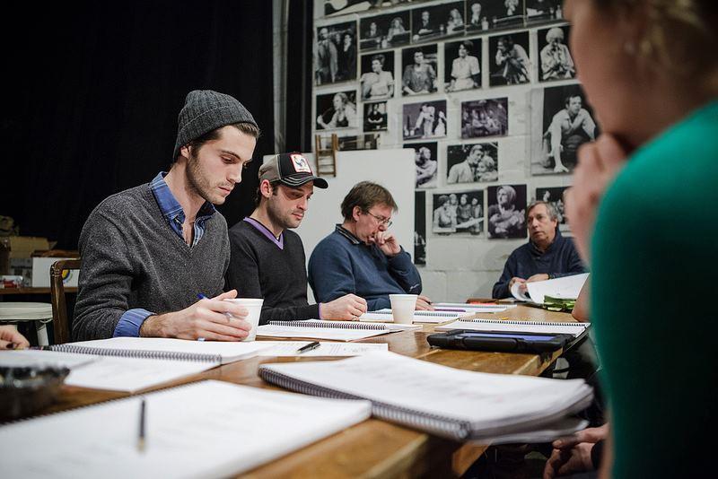 Répétitions pour Marius et Fanny-Théâtre du Rideau Vert 2014