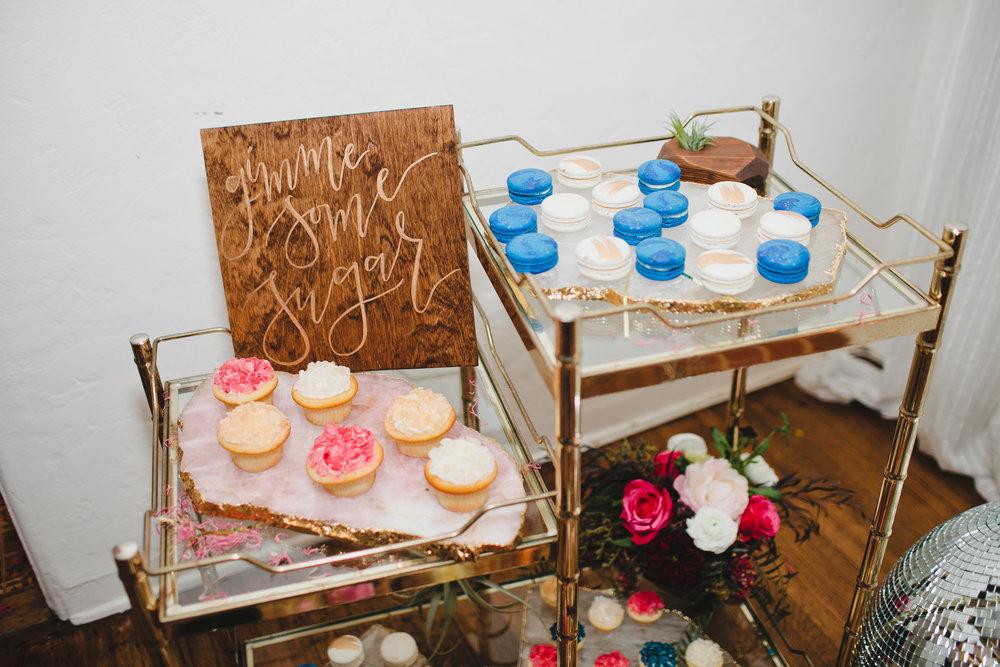 Sweet and Saucy cupcake bar