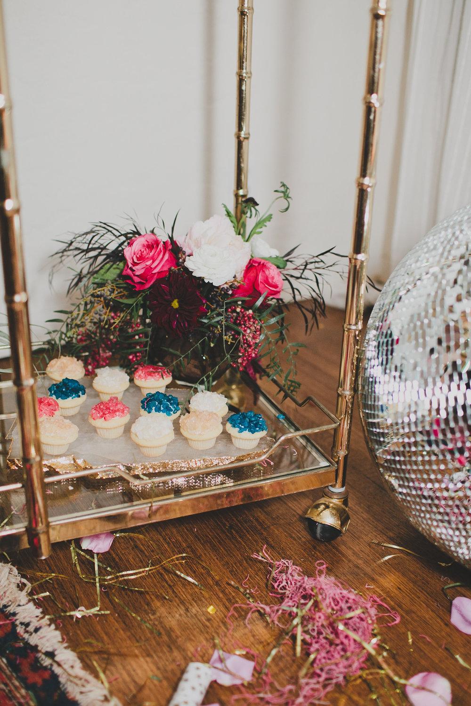 Cupcake bar New Years Eve