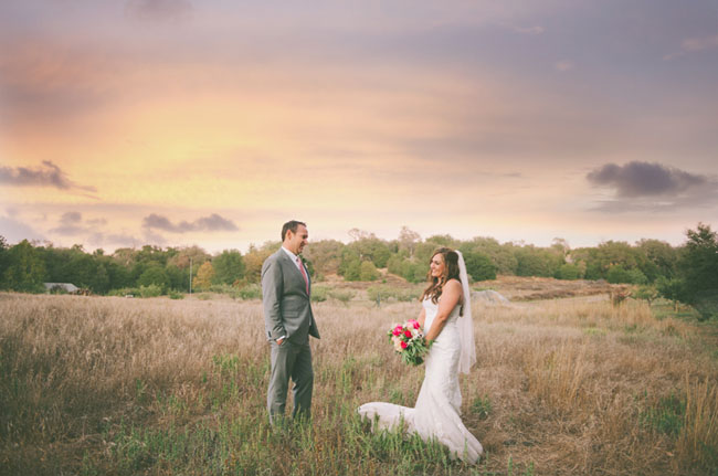 Meadow fall wedding