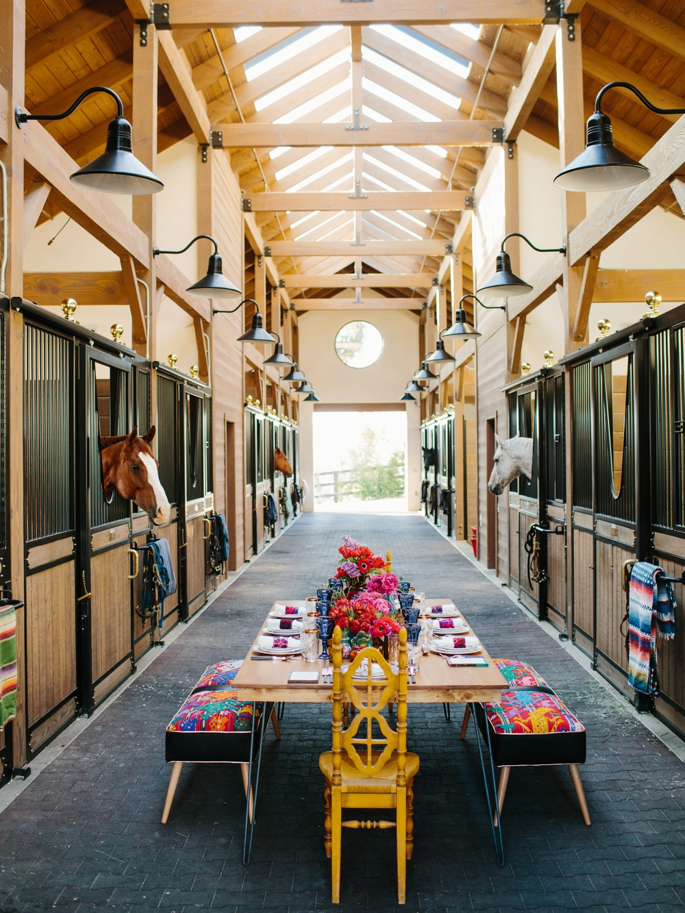 Horse Ranch Dinner Inspiration
