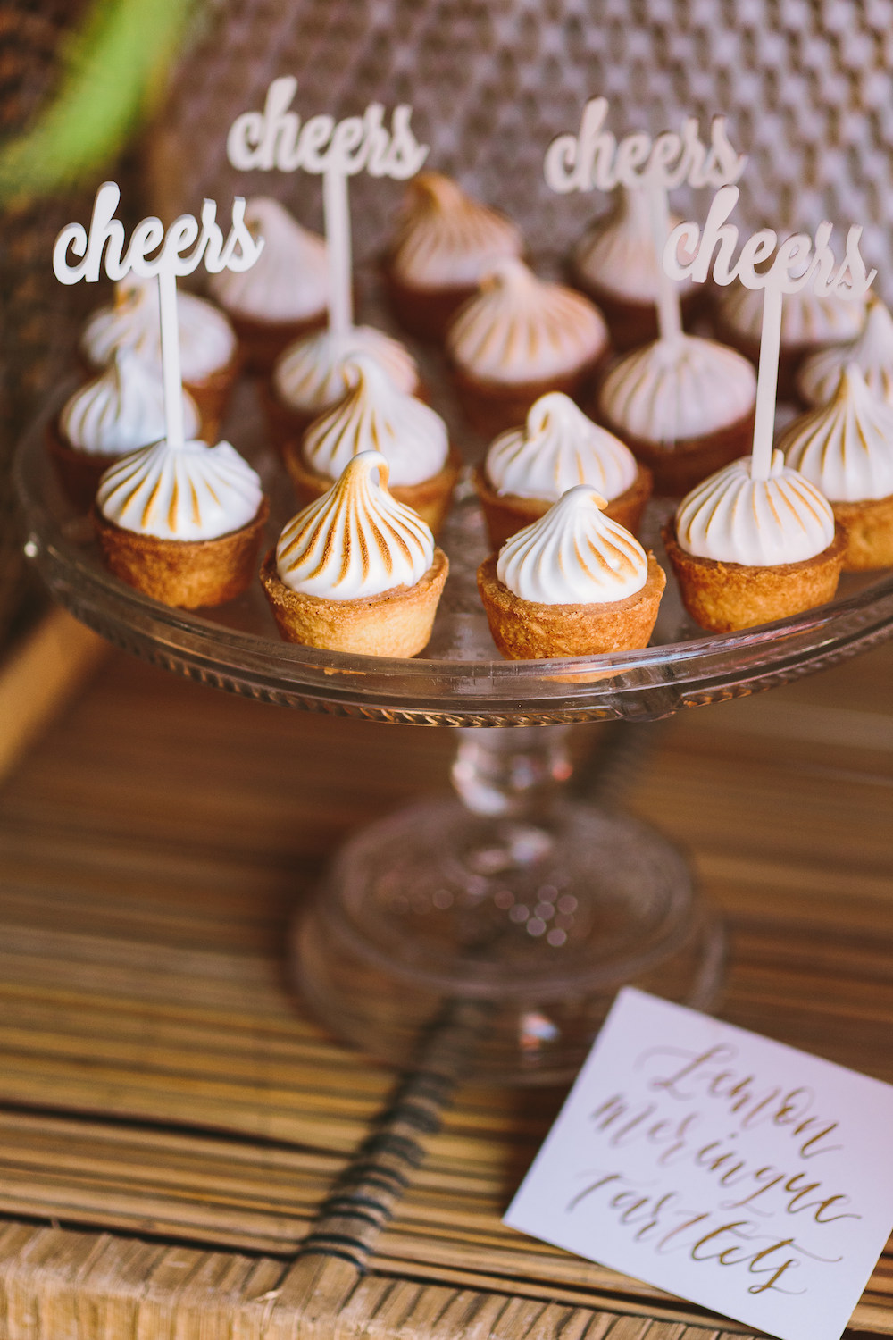 Festive cupcake toppers