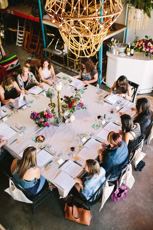 Calligraphy workshop San Diego