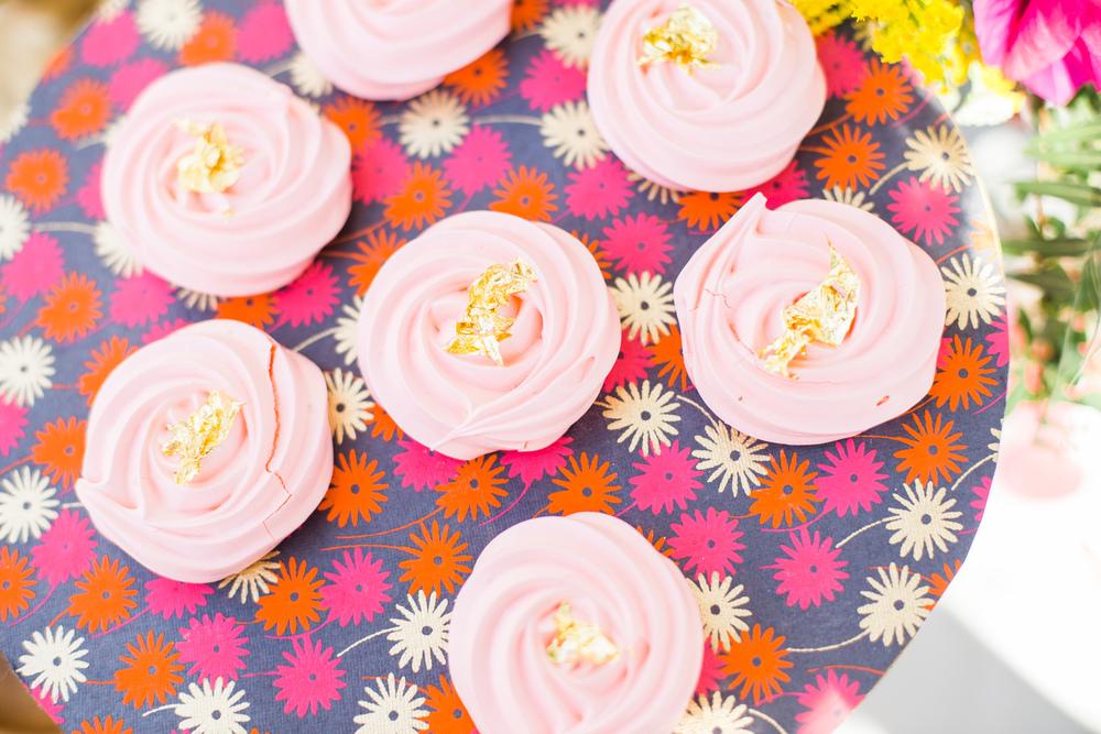 Bohemian cupcakes