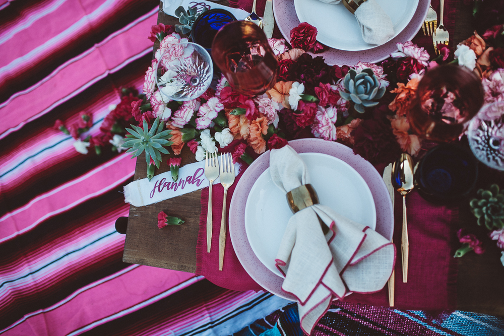 Mexican inspired bridal shower