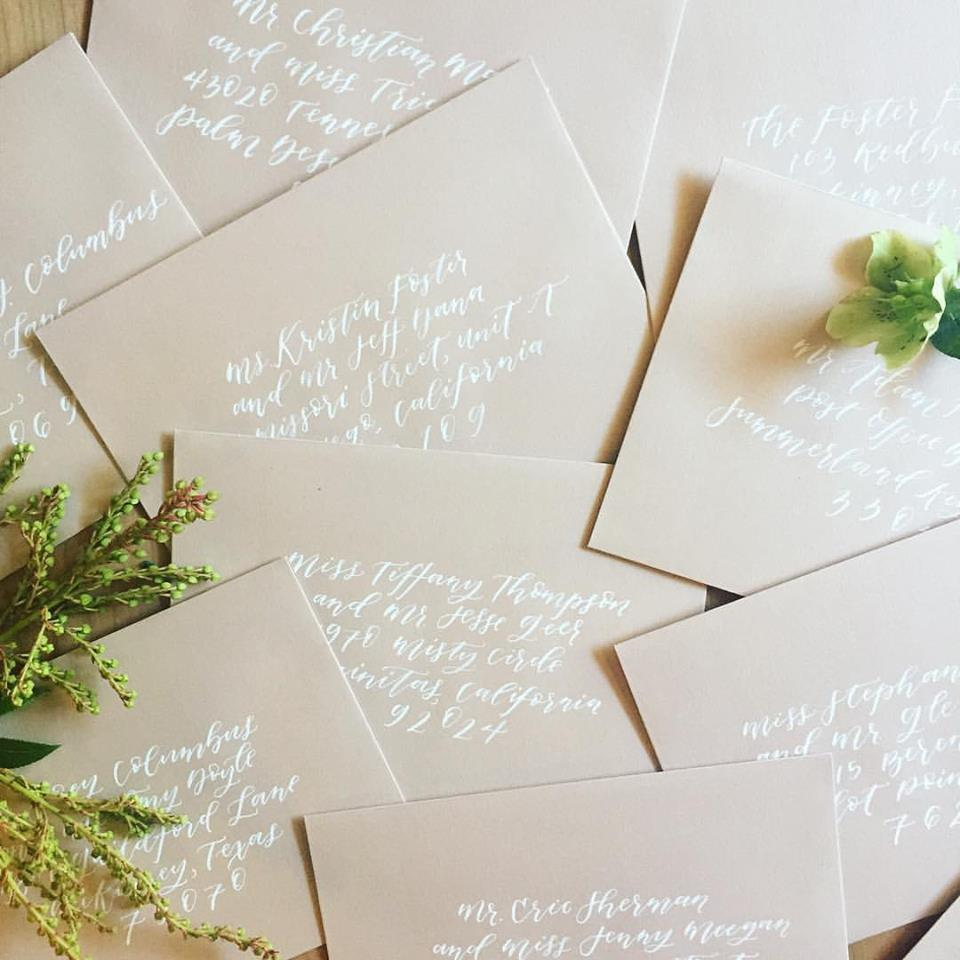 When Should Wedding Invitations Be Ordered: How To Address Wedding Invitations