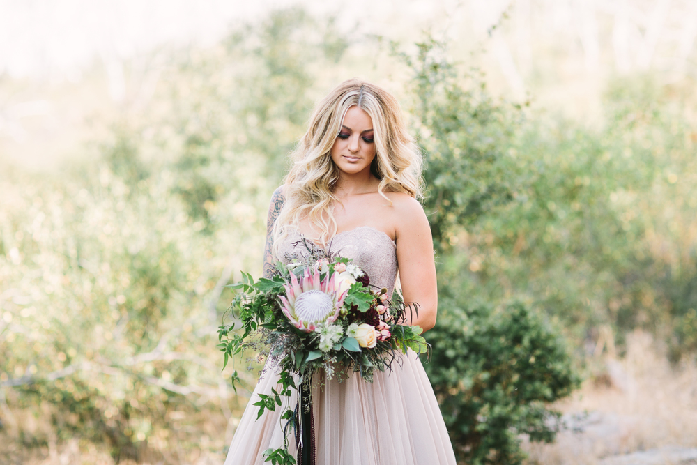 Moody fall wedding inspiration
