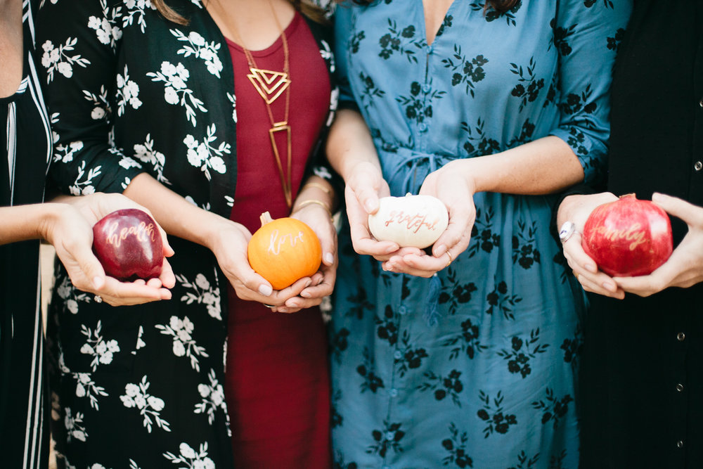 Thanksgiving fruit decor ideas
