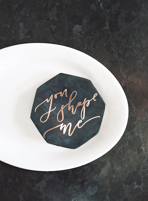 You shape me wedding inspiration