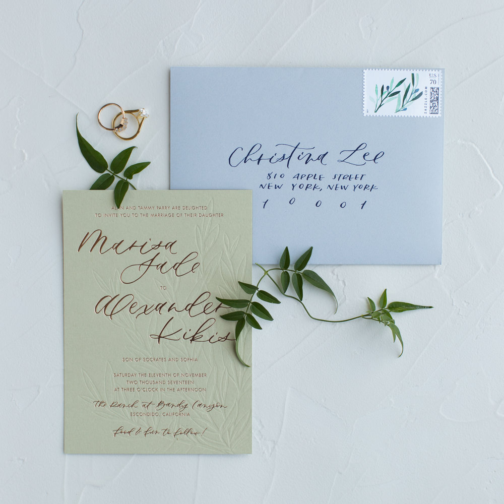 greek inspired wedding invitations