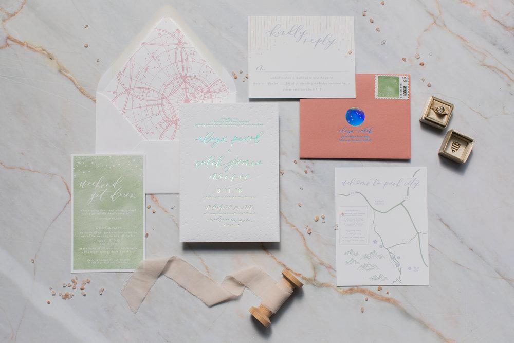 Holographic wedding invitations.jpg