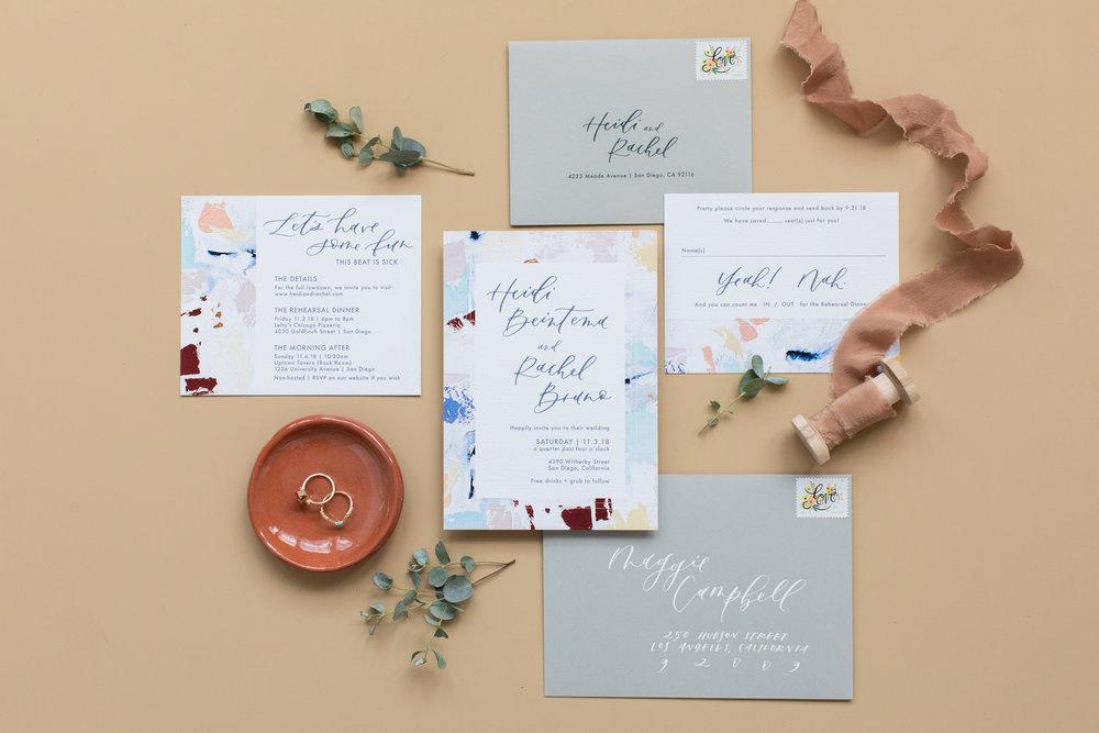 Art inspired wedding invitations.jpg