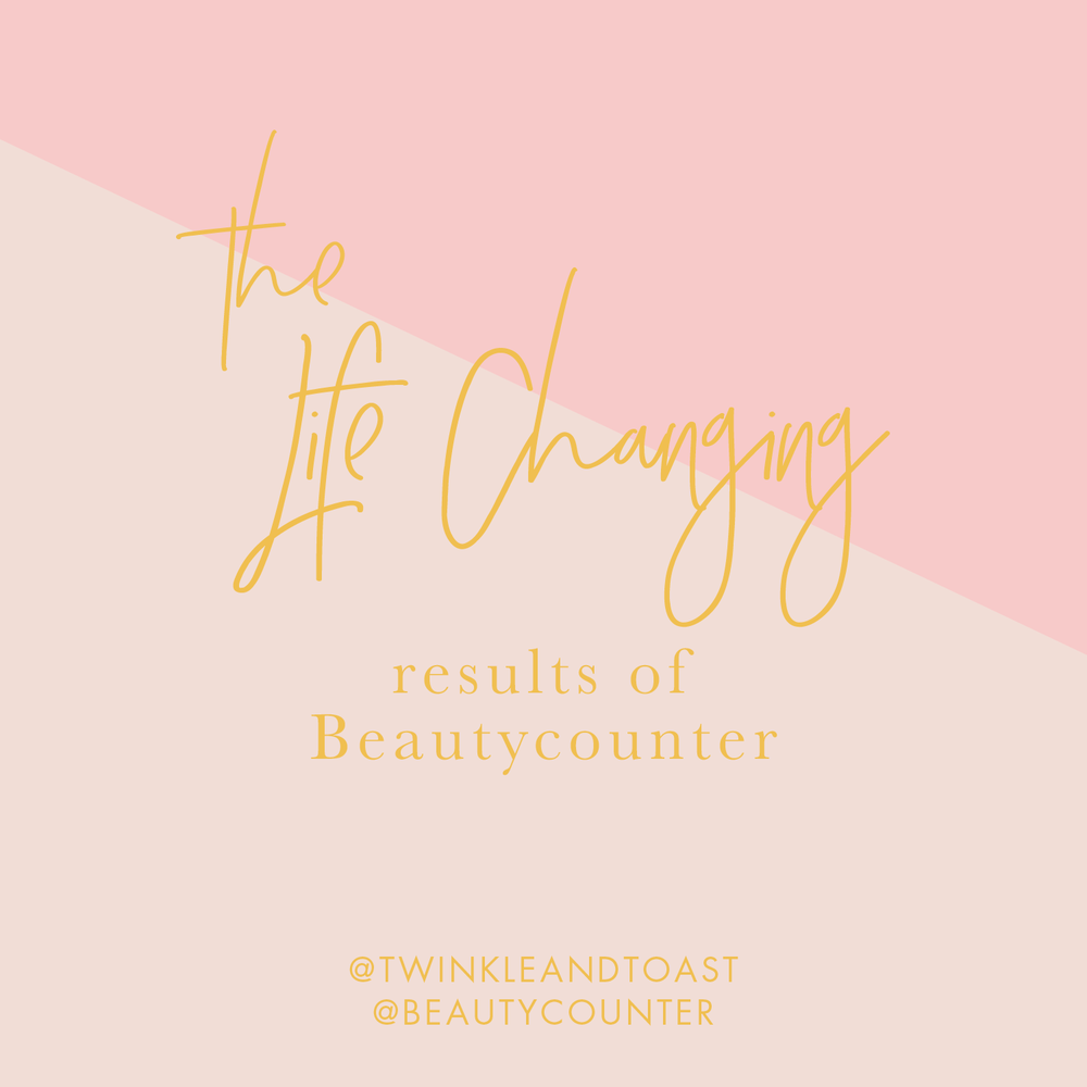 Life changing beauty products Beautycounter