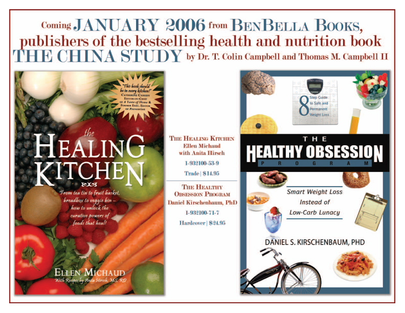 """Healing Kitchen"" + ""Healthy Obsession"" Media Kit 