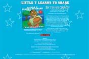 """Little T Learns to Share"" Website Design | moxiestudio.com"