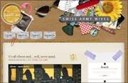 Swiss Army Wives Blog Design | moxiestudio.com