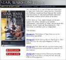 """Star Wars on Trial"" Website Design 