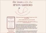 """The Man with the Iron Tattoo"" Website Design | moxiestudio.com"