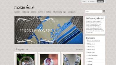 Moxie Luxe Website