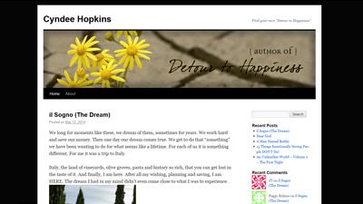 Cyndee Hopkins Blog