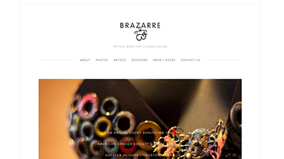 Brazarre Website