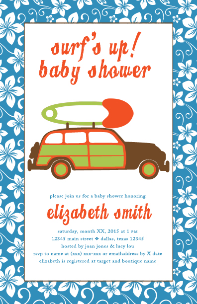 Baby Shower Invitation  | moxiestudio.com