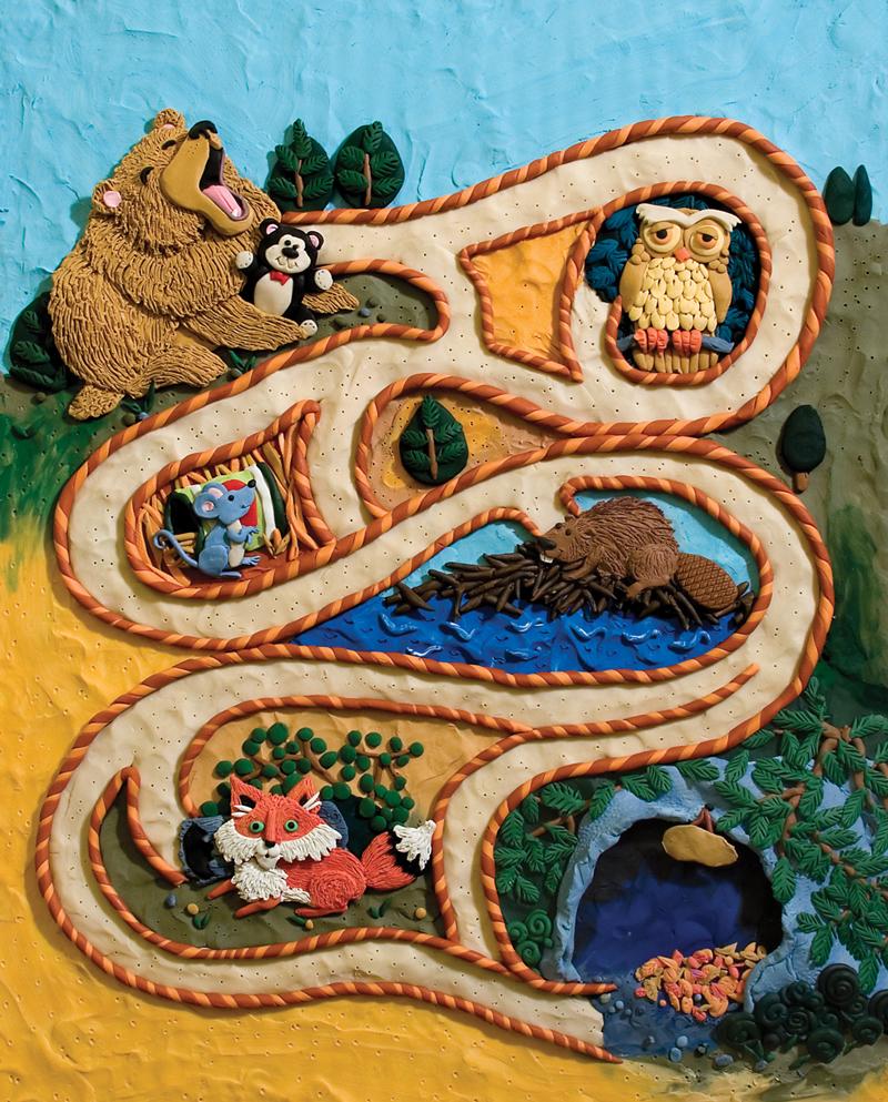 Sleepy Bear Maze