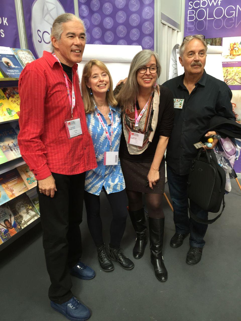 Chris, me, Elizabeth, Bob Barner