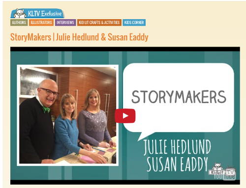 Learn to make a baked clay sun with Susan & Julie on KidLit TV with Rocco Staino!