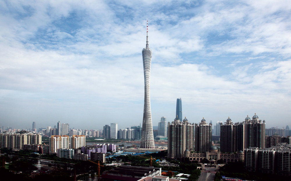 Canton Tower - Multi-purpose tower© Information Based Architecture