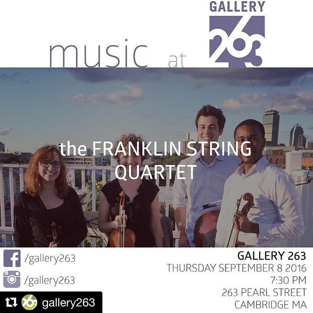 Tomorrow night!! Franklin and Beethoven will be there