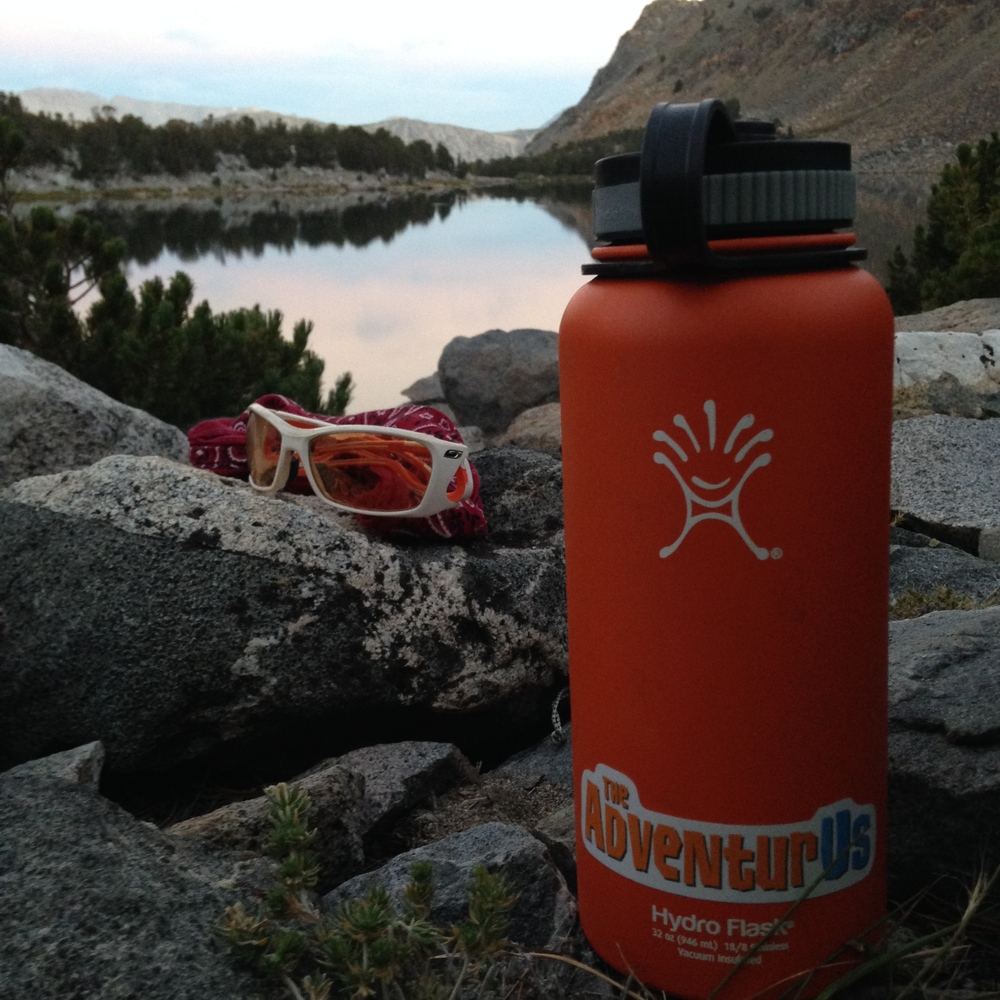 Hydro Flask 32oz Water Bottle  Location: Green Lake, Inyo National Forest