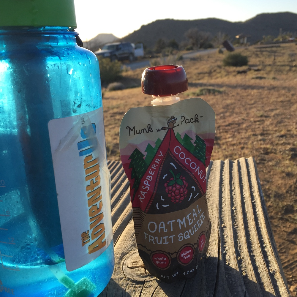 Breakfast at Mojave National Preserve